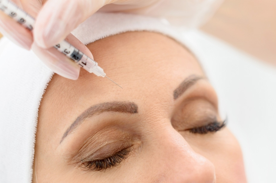 Aplicação de Toxina Botulínica (Botox)